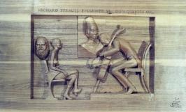 rezbarstvi-relief-hudebni-motiv