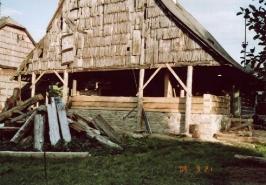 Rekonstrukce roubené chalupy vDolní Orlici :: roubenka-dolni-orlice_3